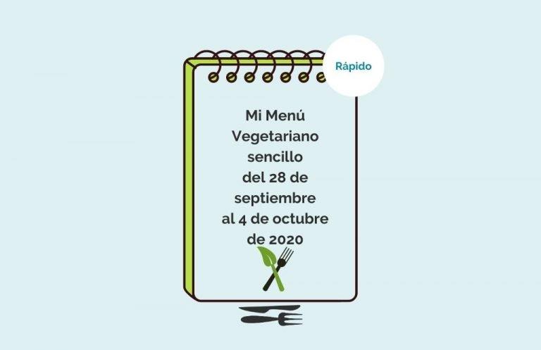1ª semana octubre vegetariano sencillo