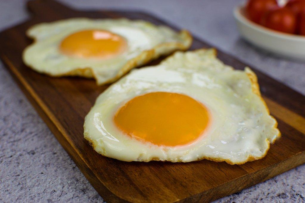 ACOMPAÑAMIENTO Huevos a la plancha