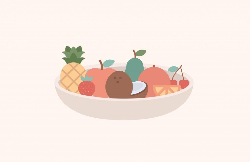 Alimento de temporada II: Frutas