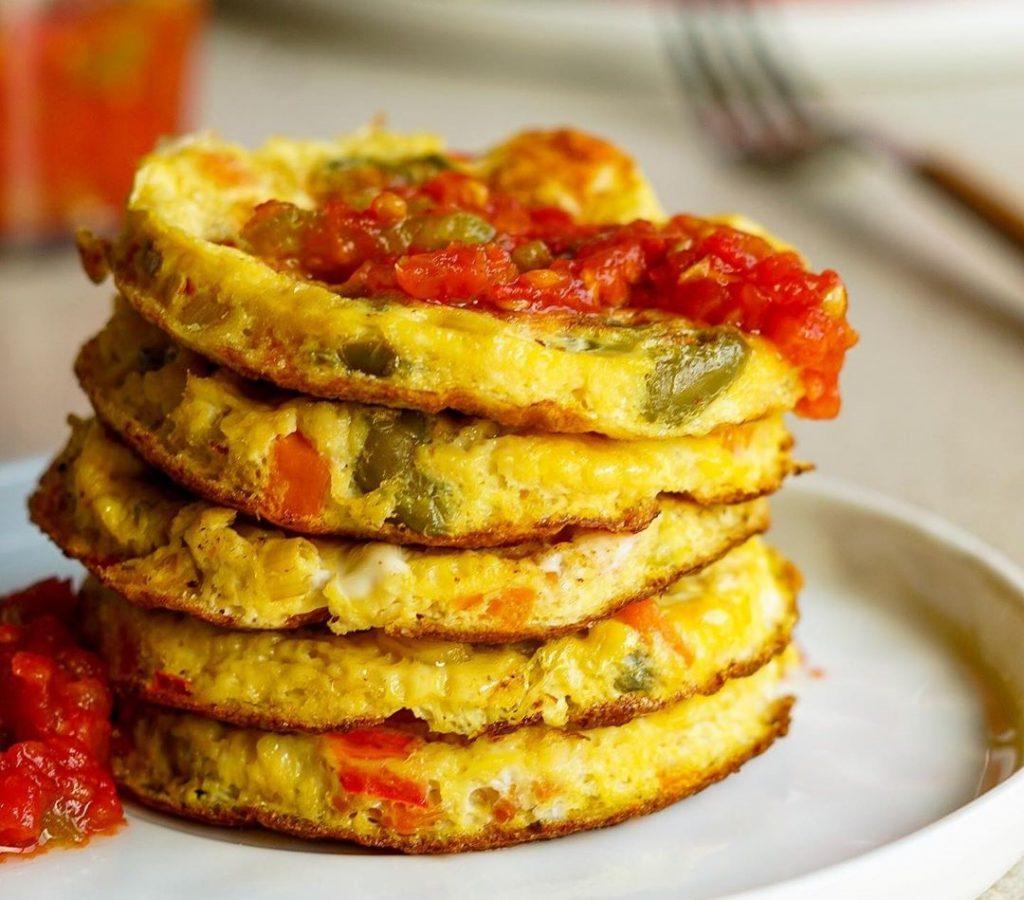 Mini tortillas de verduras