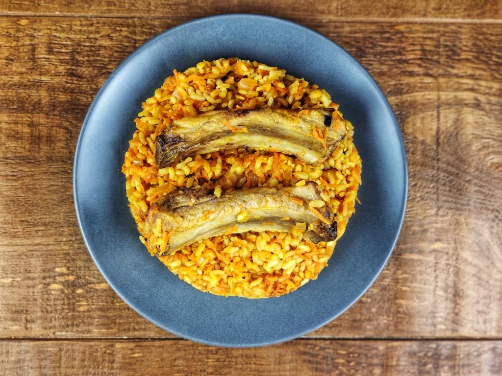 arroz costilla