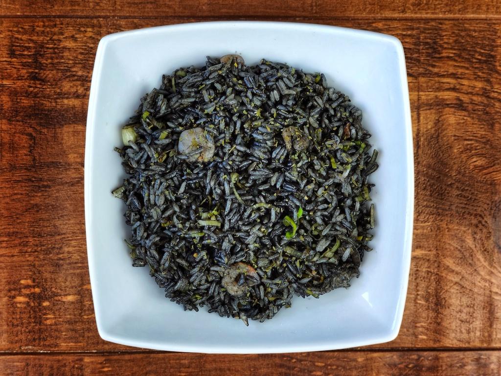 arroz negro gambas