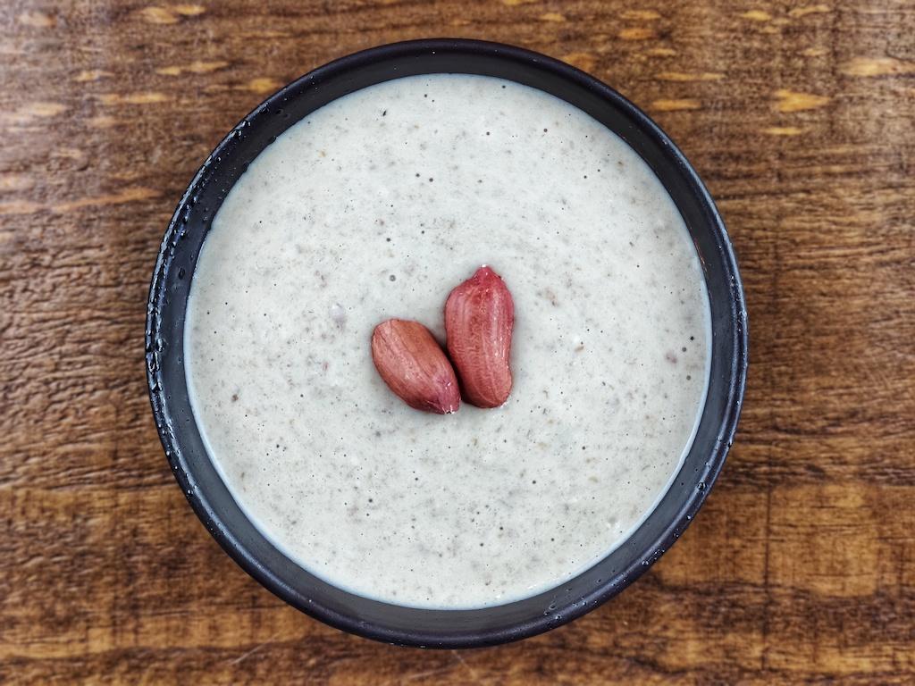 batido avena platano cacahuetes