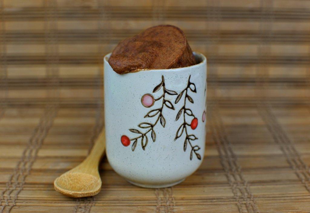 bizcochito chocolate taza