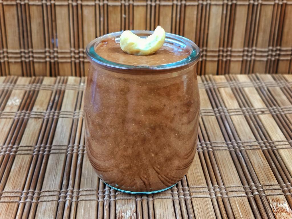 crema cacao garbanzos platano