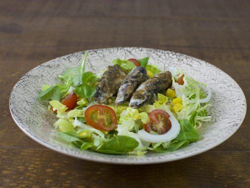 ensalada sardinas marinadas