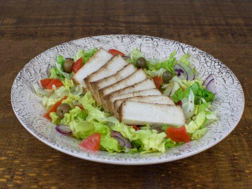 ensalada tofu plancha