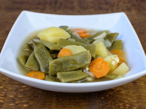 judias verdes patatas