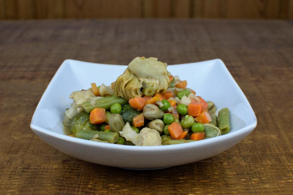menestra verduras sencilla