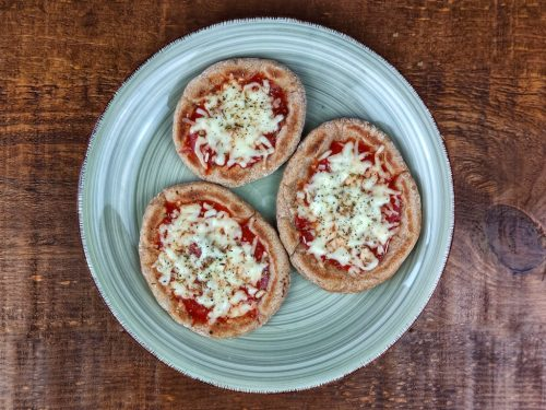 mini pizzas atun