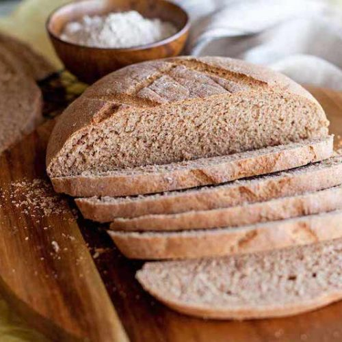 Pan de espelta integral rápido