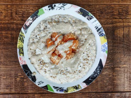 porridge avena mandarina