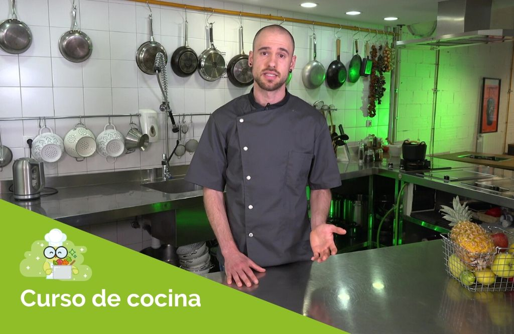 Curso cocina realfooding, introducción a la cocina.