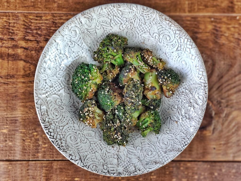 Salteado de brócoli