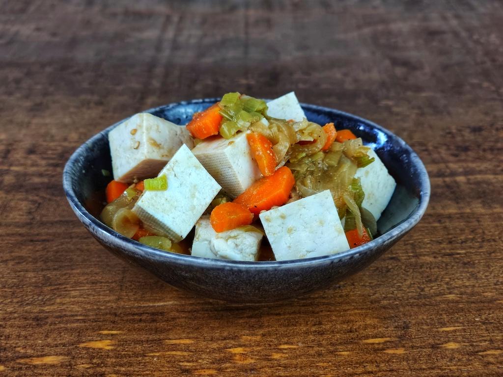 salteado tofu estilo coreano