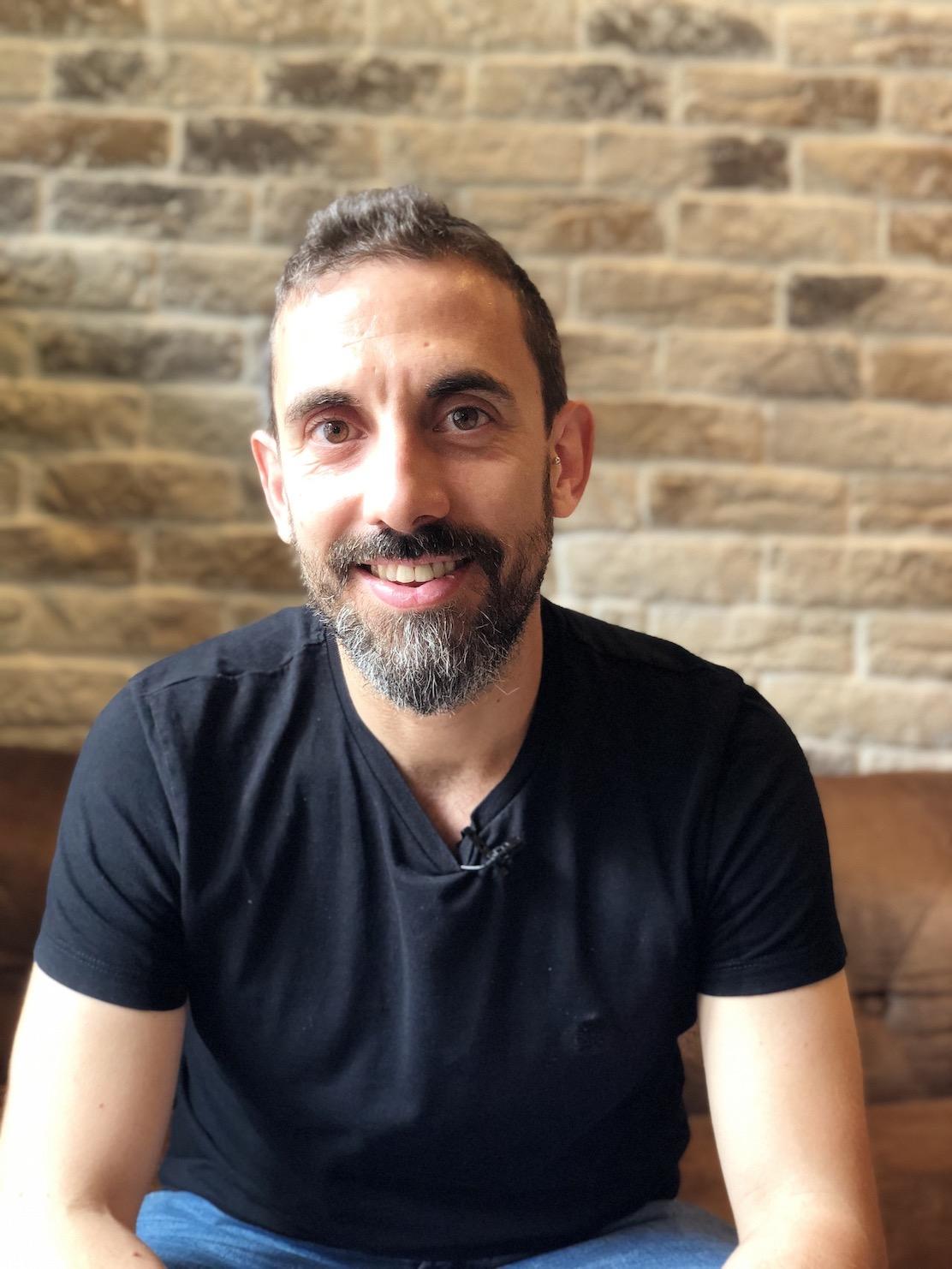 <strong>Sergio Calderón, dietista-nutricionista y enfermero</strong>