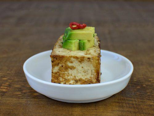 tofu plancha aguacate