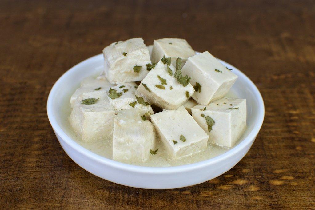 tofu salsa verduras