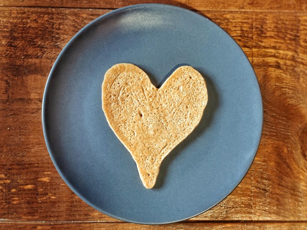 tortita san valentin vegana
